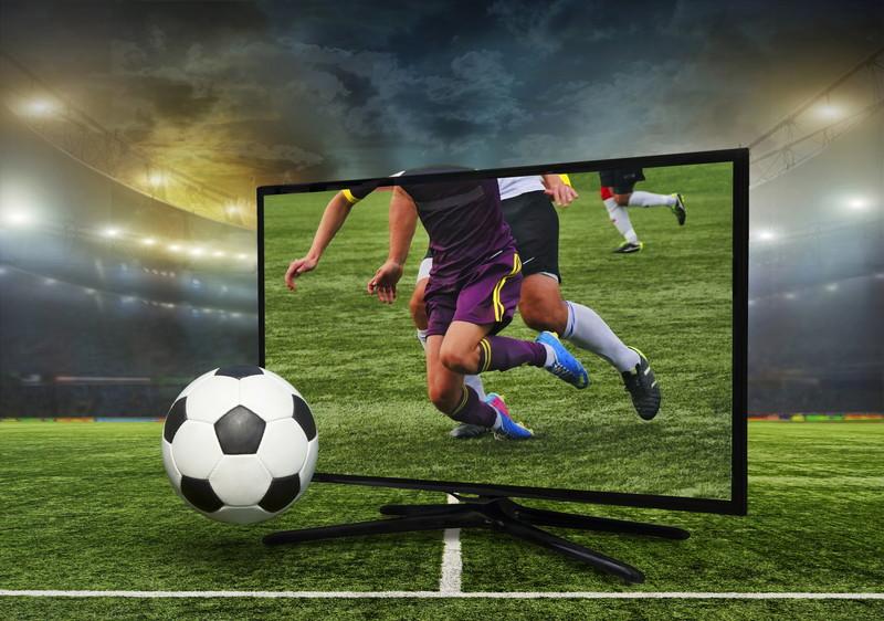 TVでサッカー